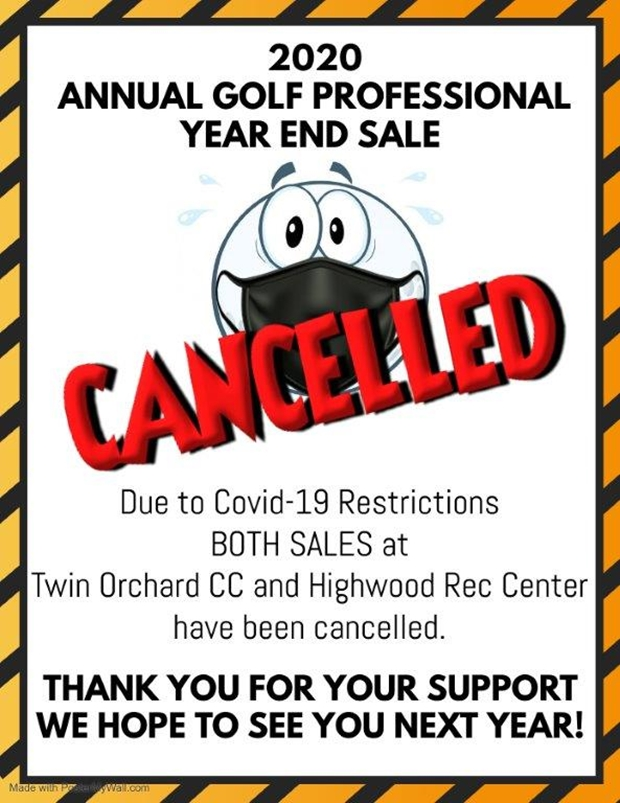 YES 2020 cancellation flyer